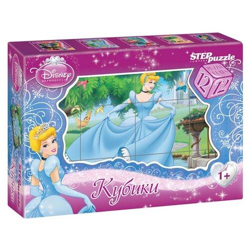 Кубики-пазлы Step puzzle Disney Золушка 87152