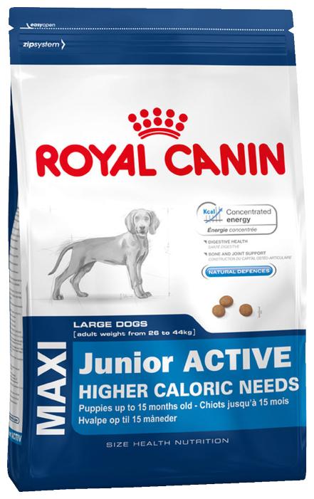 Корм для щенков Royal Canin для активных животных, для здоровья костей и суставов 4 кг (для крупных пород)