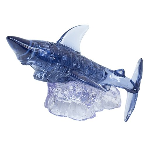 цена на 3D-пазл Crystal Puzzle Акула (90133), 37 дет.