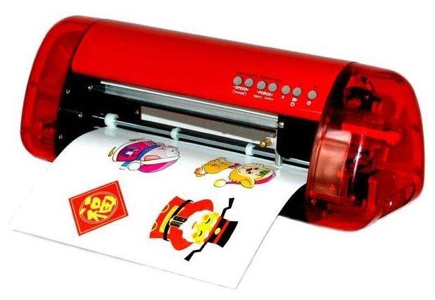 Режущий плоттер List Mini A3 красный