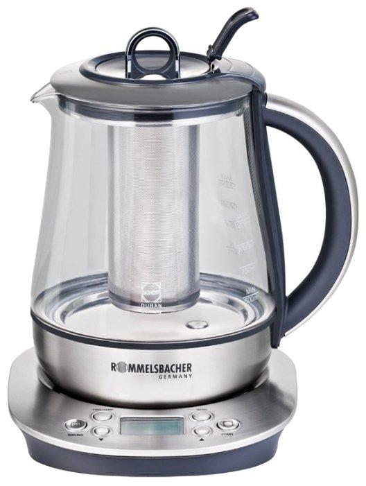 Rommelsbacher TA 1400, Silver электрический чайник