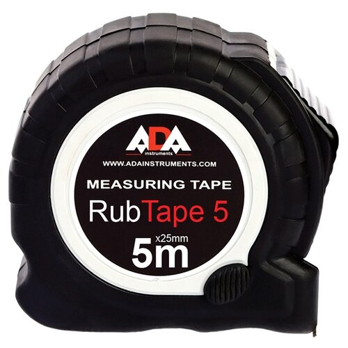 Измерительная рулетка ADA instruments RubTape 5 25 мм x 5 м измерительная рулетка ada instruments rubtape 3 16 мм x 3 м