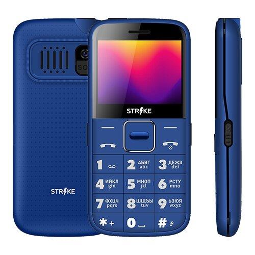 Телефон Strike S20 синий телефон