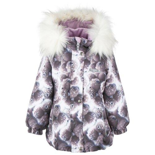 Купить Куртка KERRY Emmy K20431 размер 134, 03817 серый/фиолетовый/белый, Куртки и пуховики