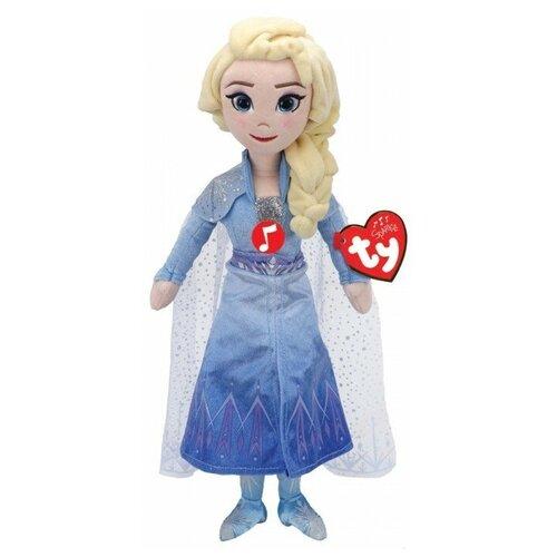 Купить Мягкая игрушка TY Sparkle Холодное сердце 2 Принцесса Эльза 30 см, Мягкие игрушки