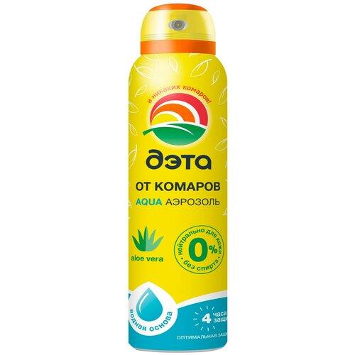 Аэрозоль ДЭТА Aqua от комаров, 150 мл