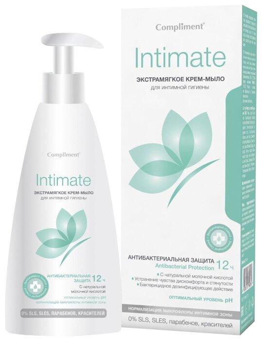 Compliment Крем-мыло для интимной гигиены экстрамягкое, 250 мл