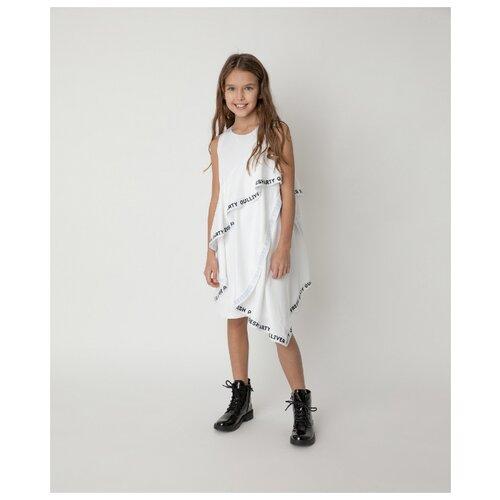 Купить Платье Gulliver размер 164, белый, Платья и сарафаны