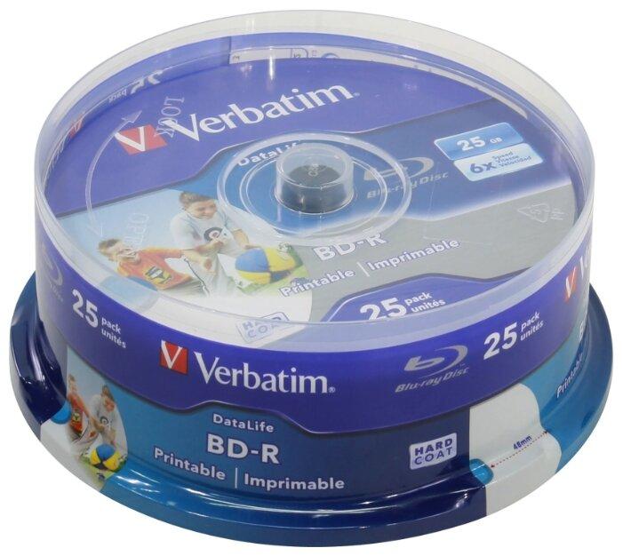 Диск BD-R Verbatim 25Gb 6x