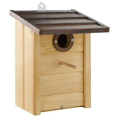 Фото - Домик-гнездо Ferplast Nest 5 20.8х17.6х26.8см дерево домик гнездо ferplast nido mini