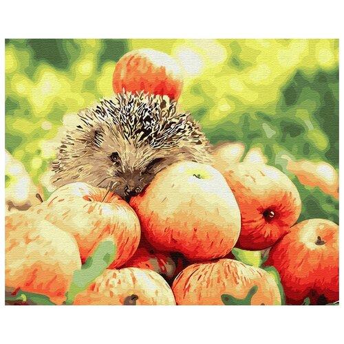 Купить Картина по номерам ВанГогВоМне GX25353 Яблочный урожай 40х50см, Картины по номерам и контурам