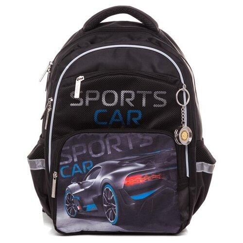 Купить Hatber Рюкзак Soft Sport car (NRk_49059), черный, Рюкзаки, ранцы