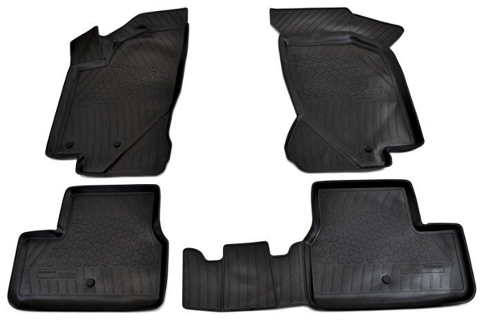 Комплект ковриков NorPlast NPA11-C94-080 4 шт.