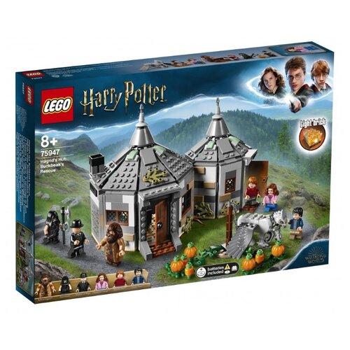Конструктор LEGO Harry Potter 75947 Хижина Хагрида: спасение Клювокрыла конструктор lego harry potter tm 75967 запретный лес грохх и долорес амбридж