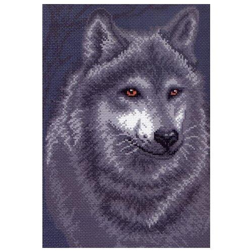 Купить Волк Рисунок на канве 28/37 28х37 (21х30) Матренин Посад 495, Матрёнин Посад, Канва