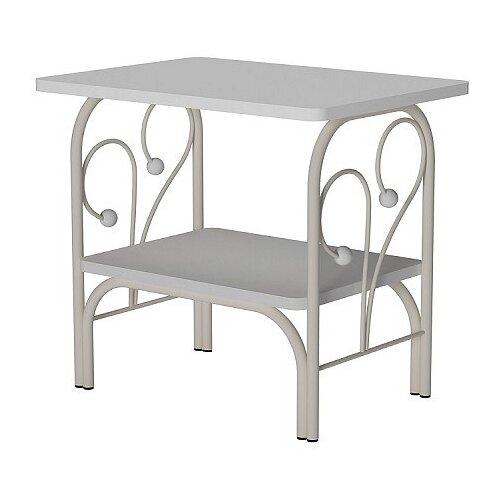 Столик журнальный Форвард-мебель МК-7, ДхШ: 50 х 36 см, белый