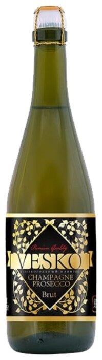 Безалкогольное шампанское Vesko Prosecco 0.75 л