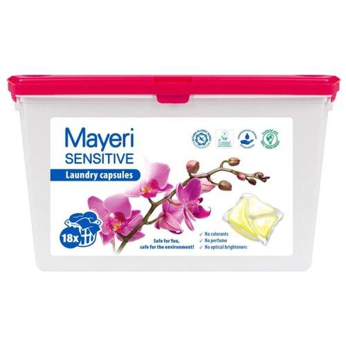 Mayeri капсулы Sensitive, контейнер, 18 шт