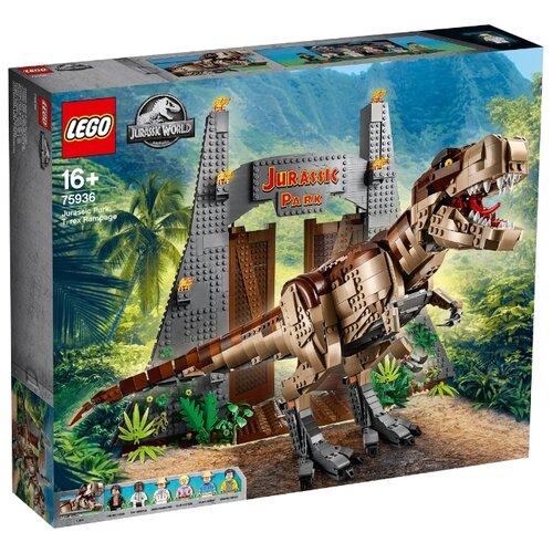 Фото - Конструктор LEGO Jurassic World 75936 Ярость Ти-Рекса конструктор lego jurassic world погоня за птеранодоном 75926