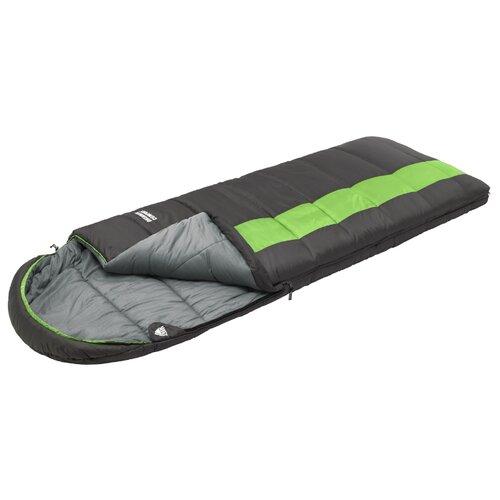 Спальный мешок TREK PLANET Dreamer Comfort серый/зеленый с правой стороны
