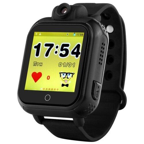 Детские умные часы Smart Baby Watch GW1000, черный часы smart baby watch v7k черный