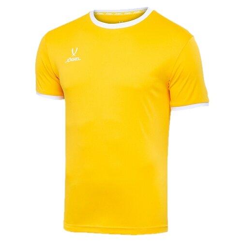 Купить Футболка Jogel размер YL, желтый/белый, Футболки и топы