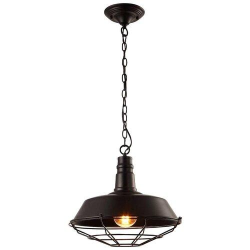 Потолочный светильник Arte Lamp Ferrico A9183SP-1BK, E27, 60 Вт потолочный светильник arte lamp ferrico a9183sp 1bk e27 60 вт