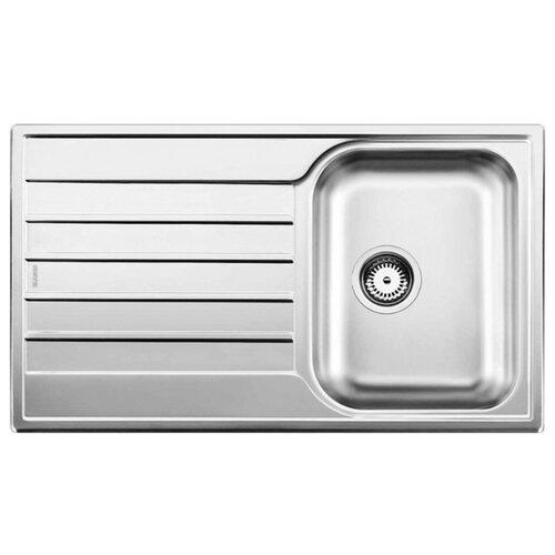Врезная кухонная мойка 86 см Blanco Livit 45S Salto 514786 хром кухонная мойка blanco livit 45 s salto 514786