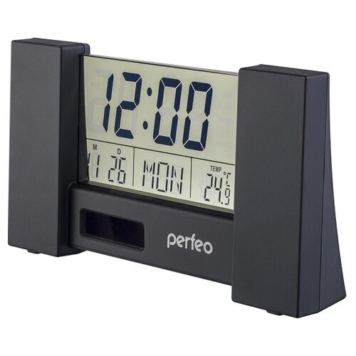 Термометр Perfeo CITY (PF-S2056) черный perfeo 533 2 автодержатель для смартфона до 6 5 на воздуховод магнитный с опорой черный красный pf a4348