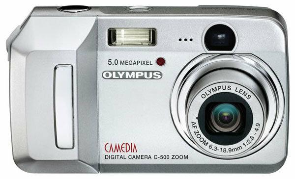 Фотоаппарат Olympus Camedia C-500 Zoom