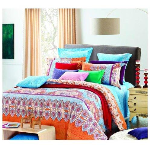 Постельное белье 2-спальное Guten Morgen 609 50х70 см, плиссе орнамент