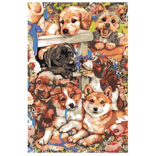 Купить Картина по номерам, 100 x 150, A65, Живопись по номерам , набор для раскрашивания, раскраска, Картины по номерам и контурам