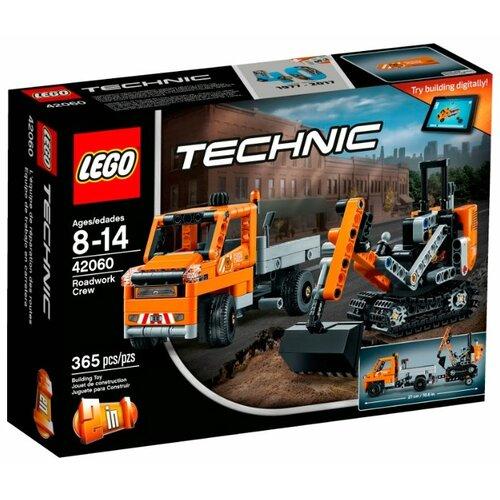 Конструктор LEGO Technic 42060 Дорожная техника lego конструктор lego technic 42080 лесозаготовительная машина