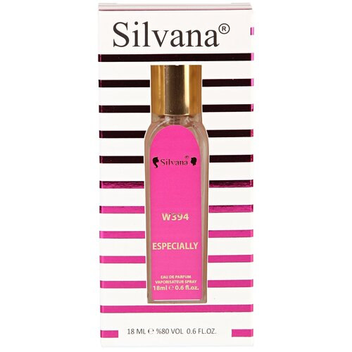 Парфюмерная вода Silvana W394 Especially, 18 мл парфюмерная вода silvana w394 especially 18 мл