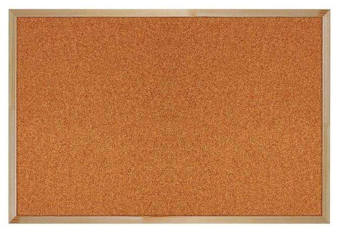 Доска пробковая BRAUBERG 236860 (60х90 см)