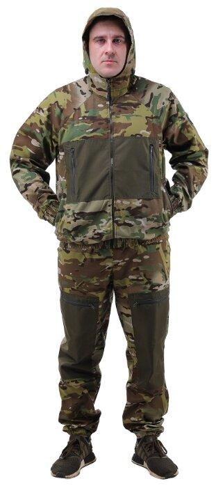 """Купить Летний камуфляжный костюм ТАЙГАН """"Пилот-3"""" твил, мультикам, размер 60 по низкой цене с доставкой из Яндекс.Маркета"""