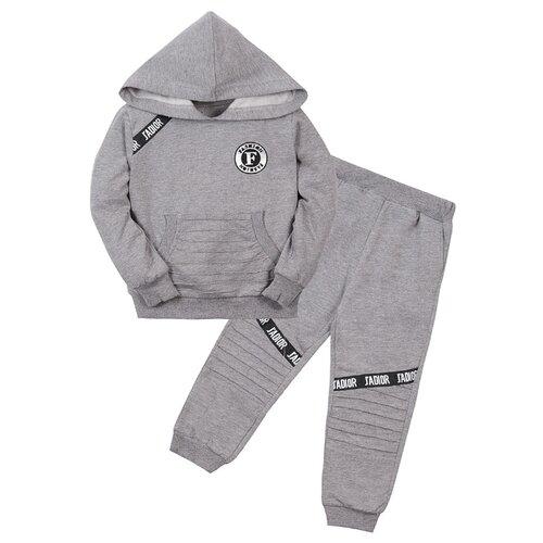 Купить Комплект одежды Sladik Mladik размер 98, темно-серый, Комплекты и форма