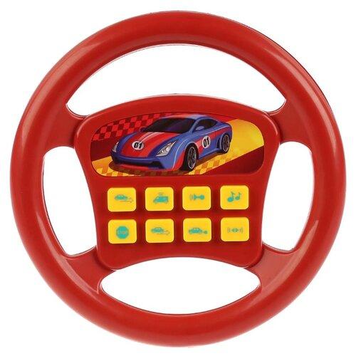 Развивающая игрушка Играем вместе Музыкальный руль (A695-H05002-R3) красный по цене 378