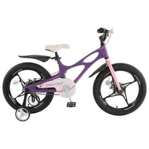 Детский велосипед Royal Baby RB18-22 Space Shuttle 18 фиолетовый (требует финальной сборки) велосипед royal baby space shuttle 18 rb18 22 фиолетовый