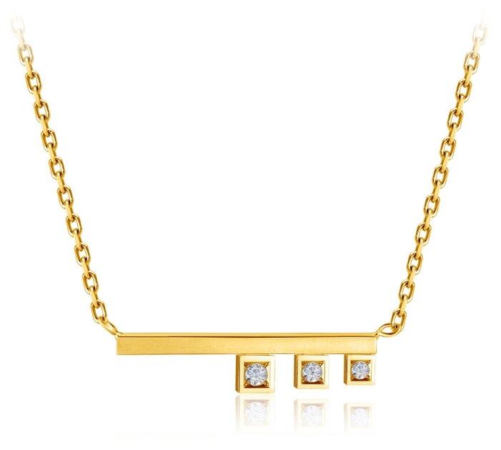 Бронницкий Ювелир Колье из желтого золота 54519021
