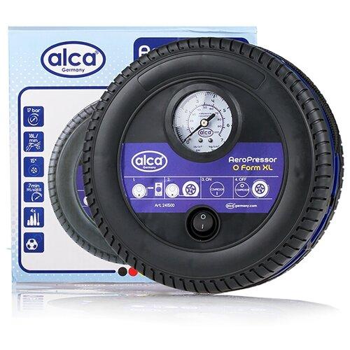 Автомобильный компрессор ALCA 241500 черный