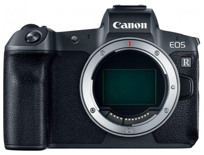 Фотоаппарат Canon EOS R Body + EF-EOS R адаптер черный адаптер EF?EOS R фото 1