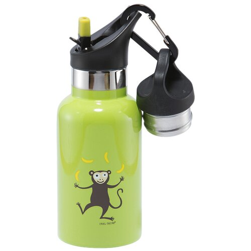 Термокружка Carl Oscar TEMPflask Monkey, 0.35 л лайм