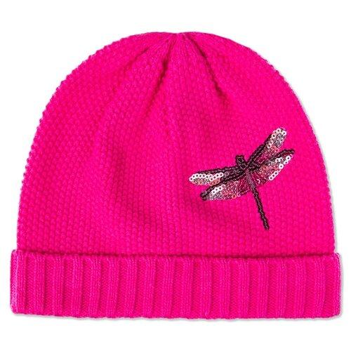 Купить Шапка-бини playToday размер 52, розовый, Головные уборы