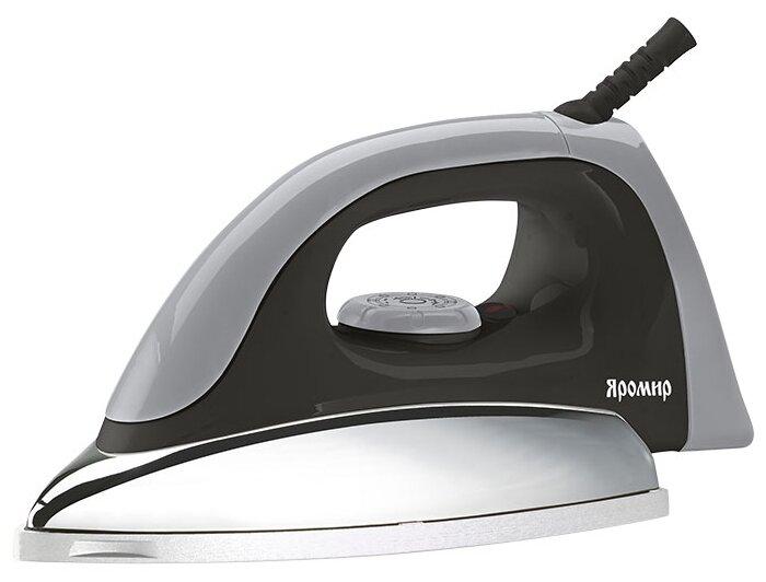 Купить Утюг Яромир ЯР-004 черный/серый по низкой цене с доставкой из Яндекс.Маркета