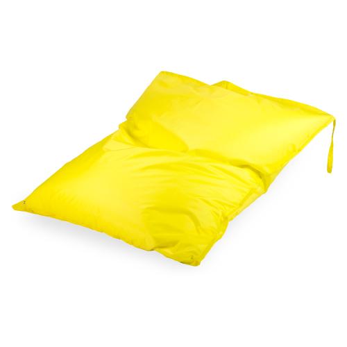 Пуффбери кресло-мешок Подушка желтый оксфорд