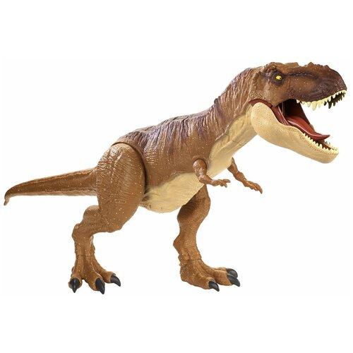 Купить Фигурка Mattel Jurassic World Супер Колоссальный Тираннозавр Рекс FMM63, Игровые наборы и фигурки
