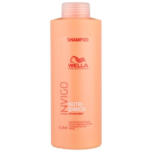 Wella Professionals шампунь Invigo Nutri-Enrich ультрапитательный 1000 мл wella professionals enrich bouncy foam