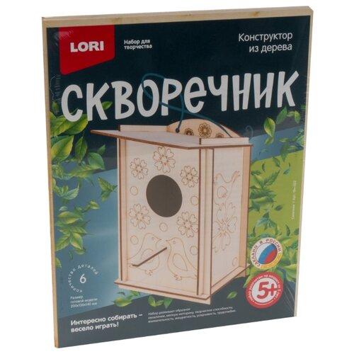 Сборная модель LORI Скворечник Синичник (Фн-022)