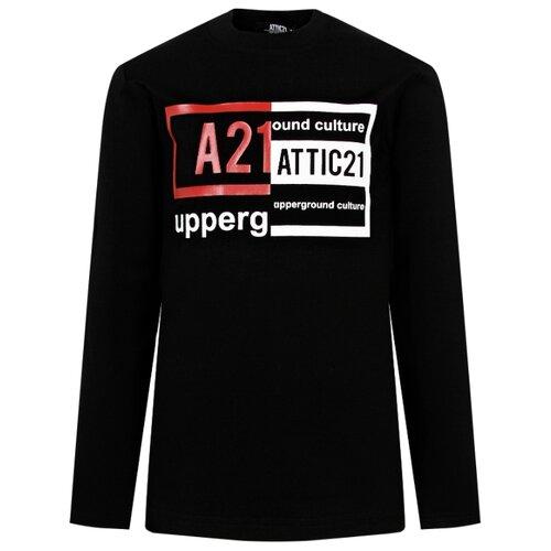 Лонгслив ATTIC21 размер 140, черный матрас подушка на подоконник 2345 3456